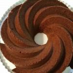 Tarta de bundt cake de galletas Príncipe