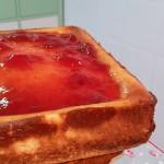 Tarta New York Cheesecake con fresas