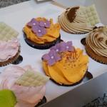 Cupcakes variados para cumpleaños