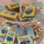 Galletas personalizadas de los minions