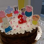 Tarta de cumpleaños de Peppa Pig
